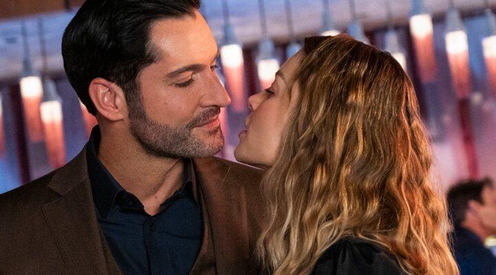 Tom Ellis y Lauren German en 'Lucifer'