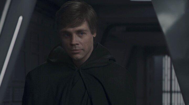 Luke Skywalker en 'The Mandalorian'