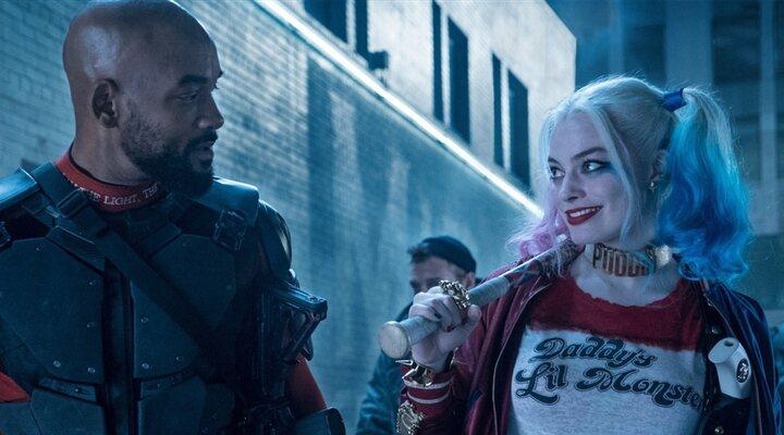 Will Smith y Margot Robbie en 'Escuadrón Suicida'