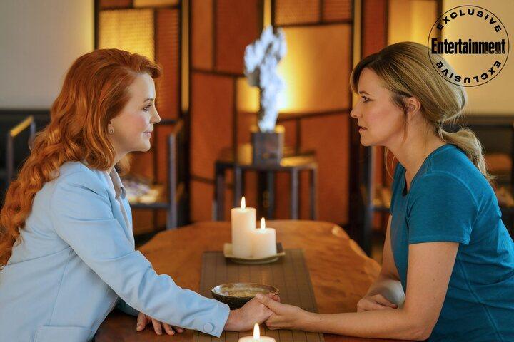 Renee O'Connor y Lucy Lawless en 'My Life is Murder'