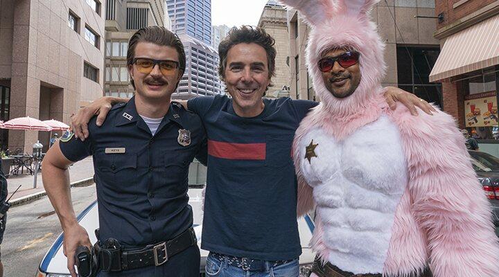 Shawn Levy en el set de rodaje de 'Free Guy'