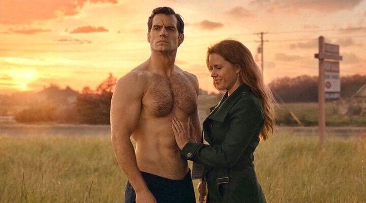 Amy Adams y Henry Cavill en 'Superman'