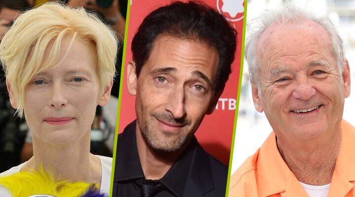 Tilda Swinton, Bill Murray, Adrien Brody