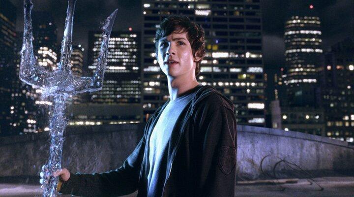Logan Lerman en 'Percy Jackson'