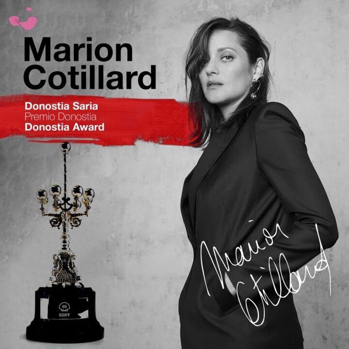 Marion Cotillard, segundo Premio Donostia del Festival de San Sebastián 2021  - eCartelera