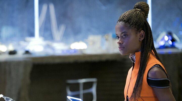 Letitia Wright en 'Black Panther'