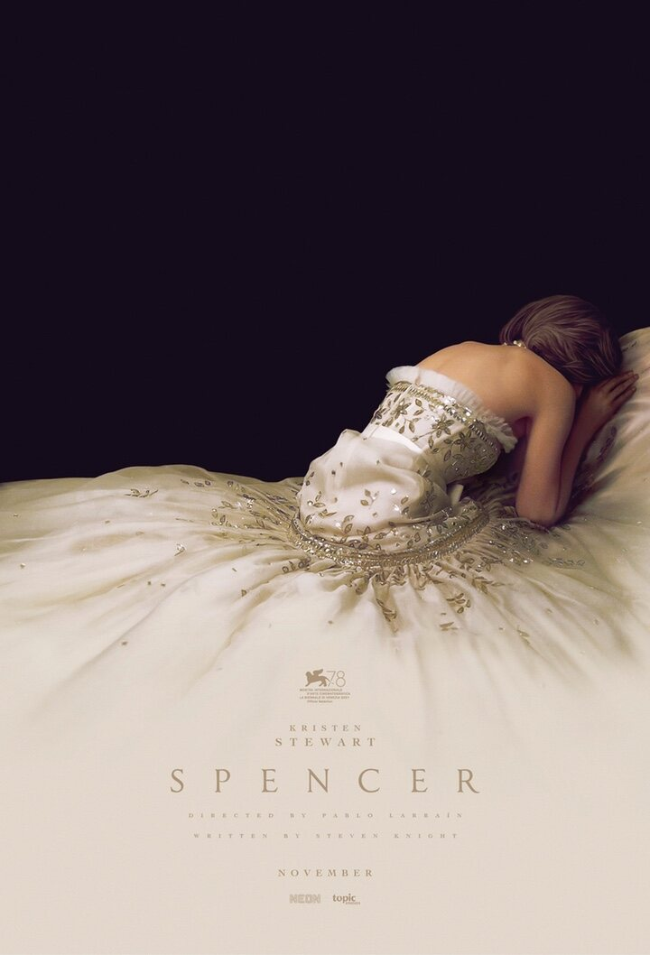 Póster de 'Spencer' con Kristen Stewart