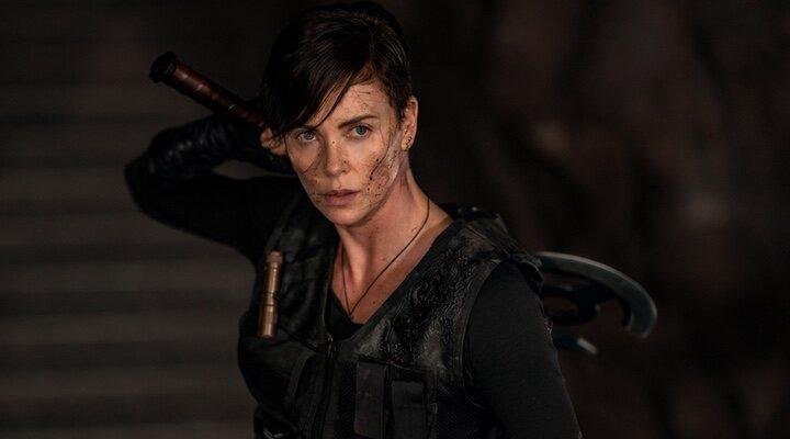 Charlize Theron en 'La vieja guardia' (2020)