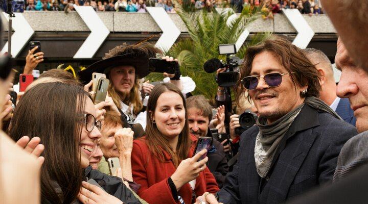 Johnny Depp en el Festival Karlovy Vary
