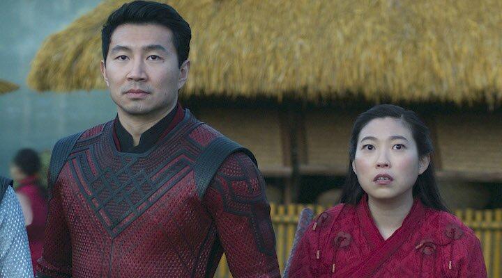 Simu Liu y Awkwafina
