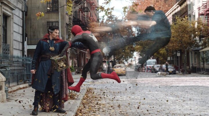 Doctor Strange en 'Spider-Man: No Way Home'