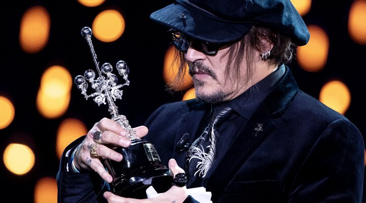 Johnny Depp recoge su Premio Donostia