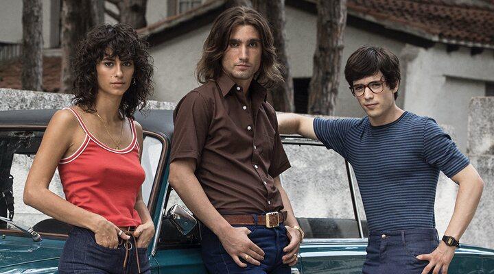 Begoña Vargas, Chechu Salgado y Marcos Ruiz