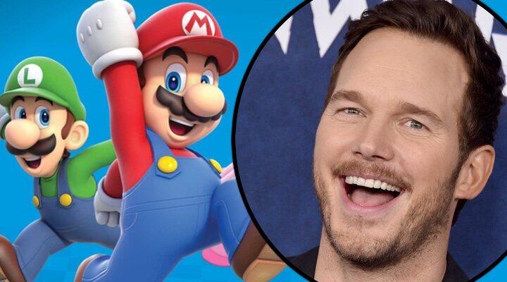 La película animada de Super Mario anuncia a Chris Pratt como protagonista