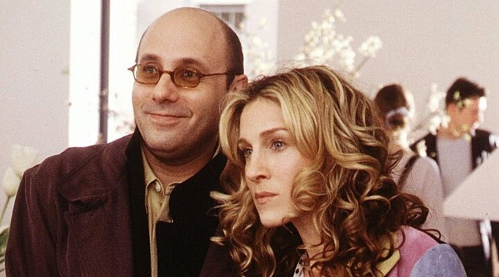 Willie Garson y Sarah Jessica Parker en 'Sexo en Nueva York'