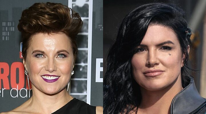 Lucy Lawless y Gina Carano