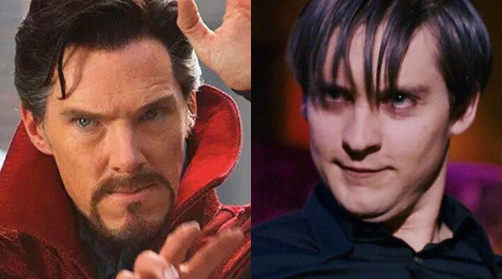 Benedict Cumberbatch y Tobey Maguire