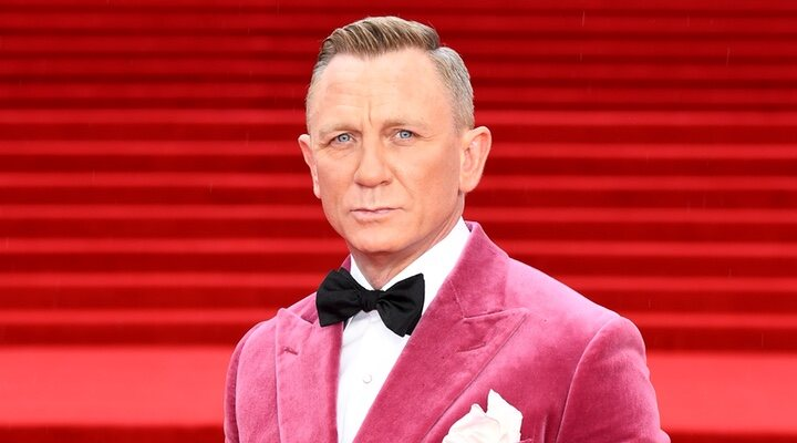 Daniel Craig en la premiere de 'Sin tiempo para morir'