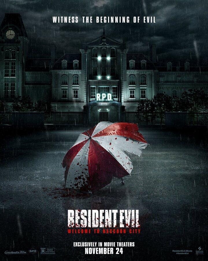 Póster de 'Resident Evil: Bienvenidos a Raccoon City'