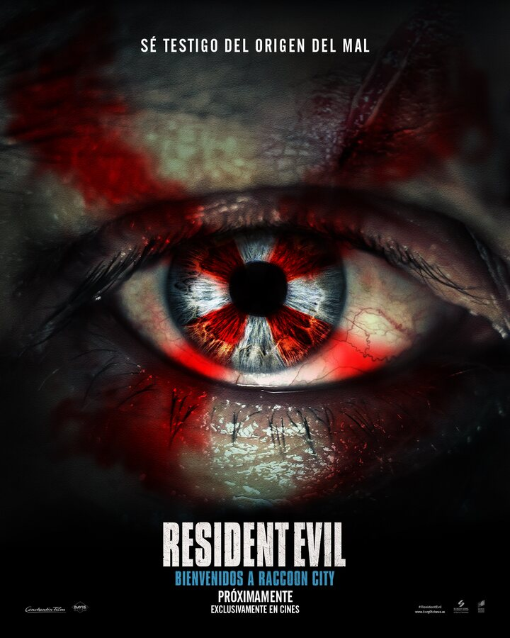 Póster español de 'Resident Evil: Bienvenidos a Raccoon City'