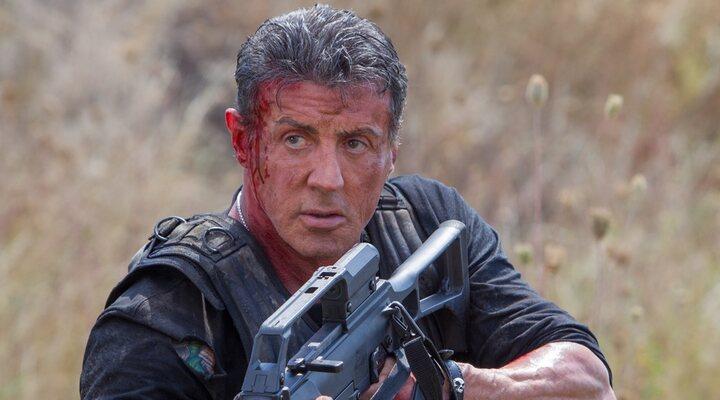 Sylvester Stallone en 'Los mercenarios 3'
