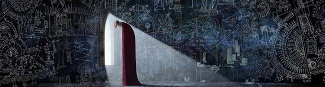 'The secret of Kells', forma sobre fondo