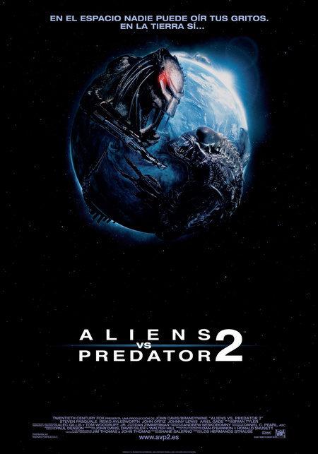 Cartel en español, imágenes y clip de 'Aliens vs Predator 2'