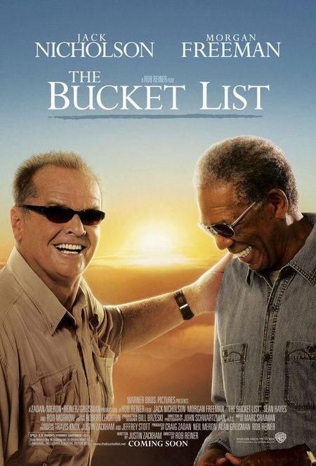 Cartel de 'The bucket list', la nueva película de Rob Reiner