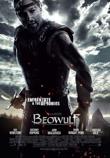 Póster en castellano de 'Beowulf'