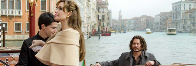 Tráiler de 'The tourist', con Angelina Jolie y Johnny Depp