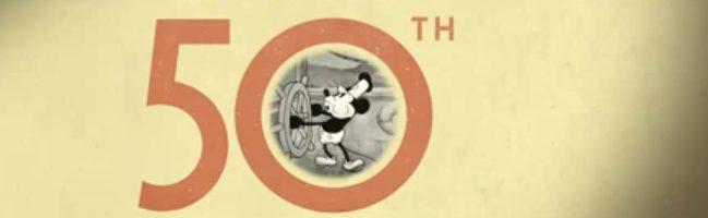 Walt Disney recopila sus 50 películas en un vídeo