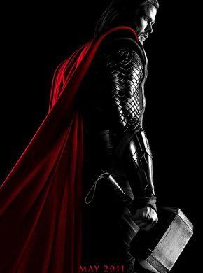 Primer póster oficial de 'Thor'