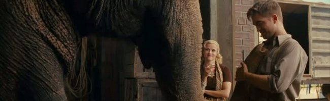 Tráiler de 'Water for elephants', con Robert Pattinson y Reese Witherspoon