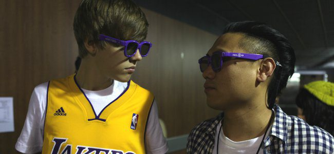 Primera imagen oficial de 'Never say never', la película de Justin Bieber