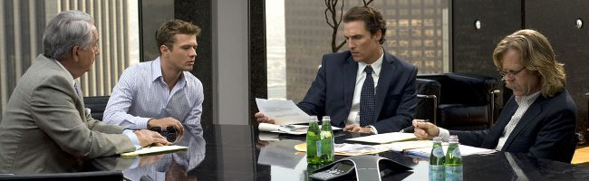 Matthew McConaughey en El inocente