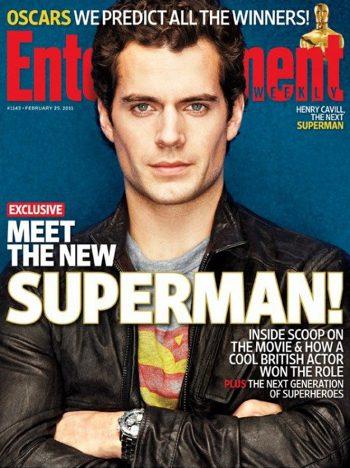 Henry Cavill fue a la prueba de 'Superman' con una réplica del traje de Christopher Reeve