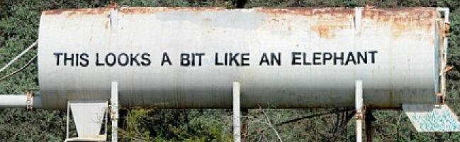 Nueva obra de arte del presunto Banksy