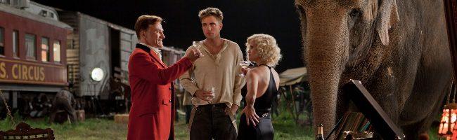 Más Robert Pattinson en el nuevo tráiler de 'Agua para elefantes'
