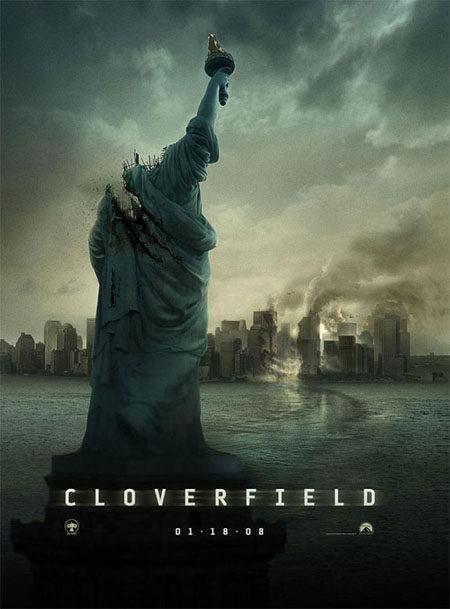 Cartel oficial de 'Cloverfield'