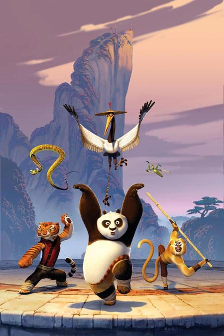 Nuevas imágenes de 'Kung fu panda'