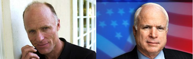 Ed Harris acompañará a Julianne Moore como John McCain