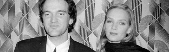 Quentin Tarantino y Uma Thurman