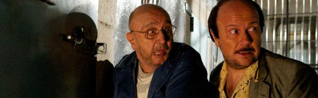 Tony LeBlanc y Santiago Segura en Torrente 4 Lethal Crisis