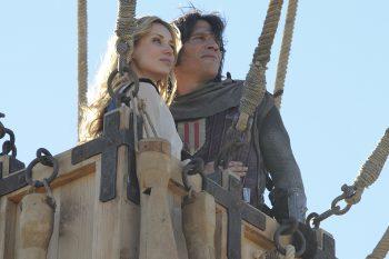 Sergio Peris-Mencheta y Natasha Yarovenko en Capitán Trueno y el Santo Grial