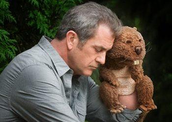 Mel Gibson en El castor de Jodie Foster
