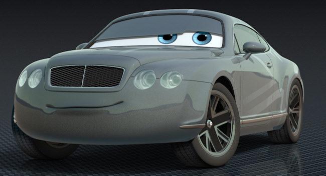 El Principe Wheeliam en Cars 2