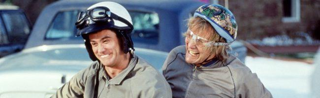 Jeff Daniels y Jim Carrey en Dos tontos muy tontos
