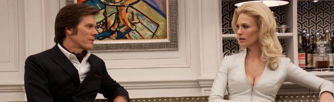 Kevin Bacon y January Jones en X-men: Primera generación