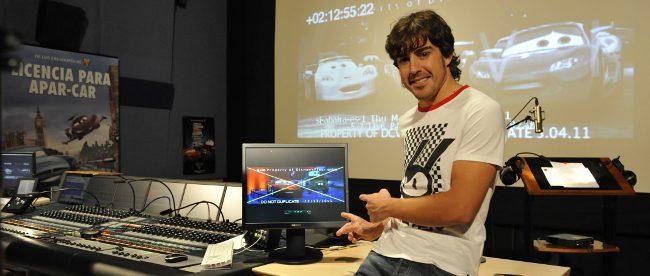 Fernando Alonso en Cars 2