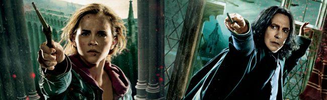 11 banners de acción de 'Harry Potter y las reliquias de la muerte: parte 2'